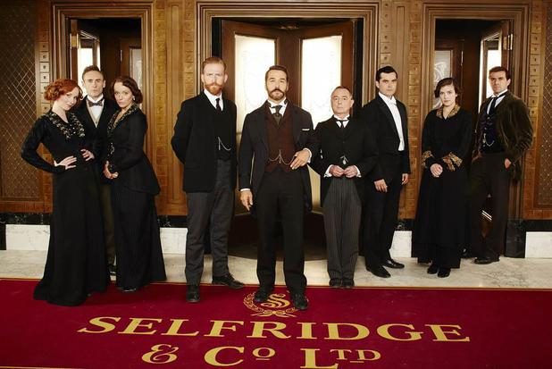 'Mr Selfridge' series two cast.