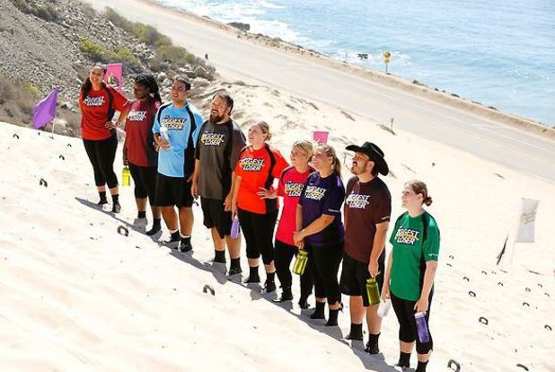 The Sand Dune Challenge on The Biggest Loser episode 11