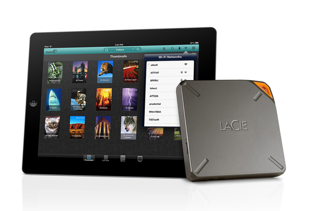 LaCie Fuel 1TB portable hard drive