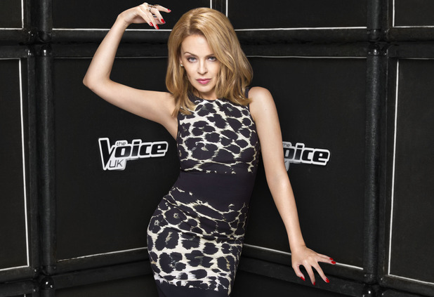 The Voice UK series 3 judge Kylie Minogue