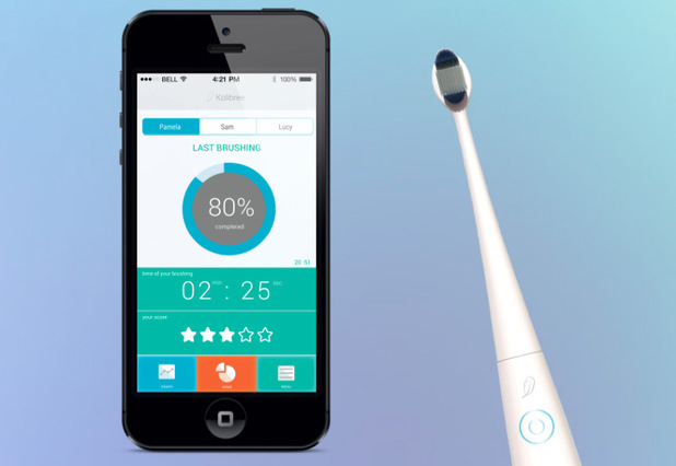 Kolibree's smart toothbrush