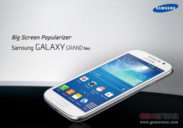 Samsung's Galaxy Grand Neo smartphone