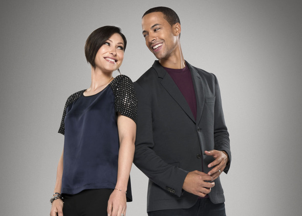 The Voice UK series 3 presenters Marvin Humes & Emma Willis