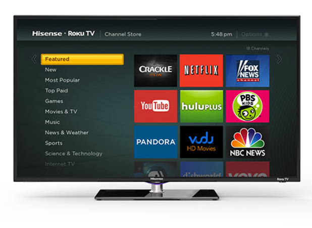Roku TV on a Hisense set