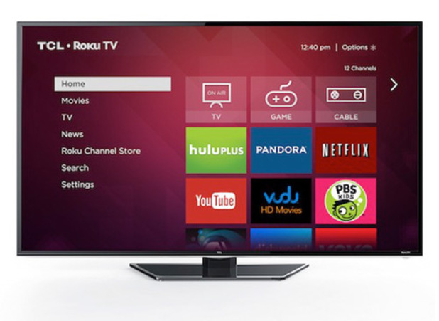 Roku TV on a TCL set