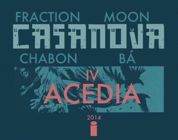 Casanova Vol 4: Acedia