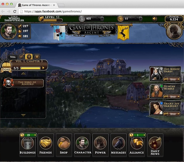 Screenshot from Game of Thrones: Ascent