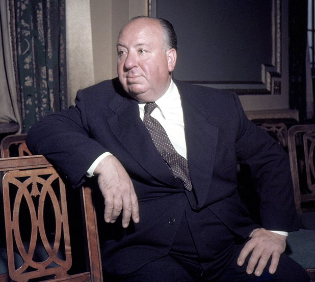 Alfred Hitchcock photographed in the 1960s