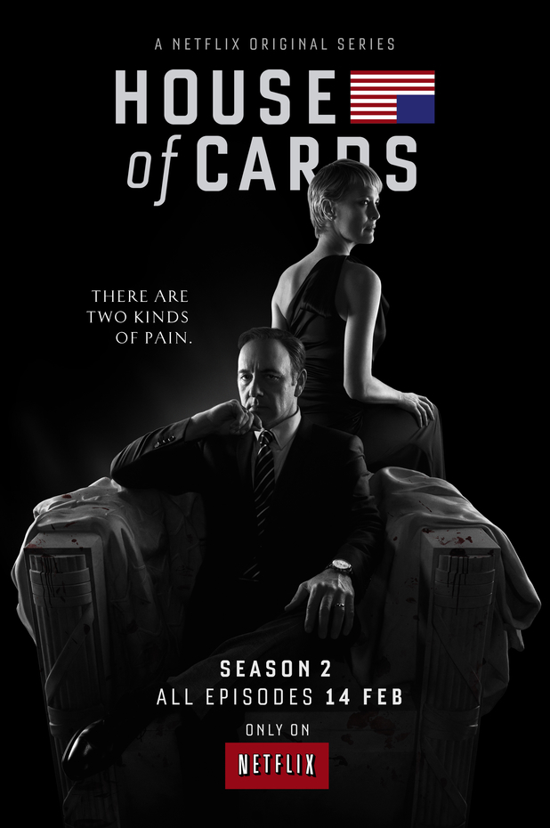'House of Cards' season two poster.