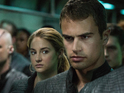 Shailene Woodley and Theo James feature in newly-released Divergent pictures.