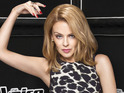 Kylie Minogue says she isn't worried about being the only female coach.