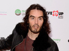 Russell Brand takes swipe at Katy Perry in meet and greet with kids