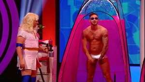 TOWIE's Kirk Norcross gets sprayed in tiny pants for 'Fake Reaction'