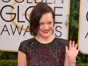 Elizabeth Moss 71st Annual Golden Globe Awards, Arrivals, Los Angeles, America - 12 Jan 2014