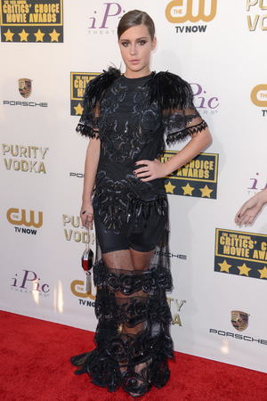 19th Annual Critics' Choice Movie Awards, Arrivals, Los Angeles, America - 16 Jan 2014 Adele Exarchopoulos 16 Jan 2014