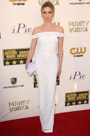 19th Annual Critics' Choice Movie Awards, Arrivals, Los Angeles, America - 16 Jan 2014 Annabelle Wallis 16 Jan 2014