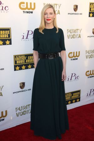 19th Annual Critics' Choice Movie Awards, Arrivals, Los Angeles, America - 16 Jan 2014 Cate Blanchett 16 Jan 2014