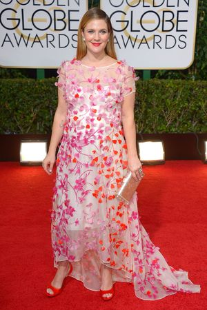 Drew Barrymore 71st Annual Golden Globe Awards, Arrivals, Los Angeles, America - 12 Jan 2014 Aubrey Plaza