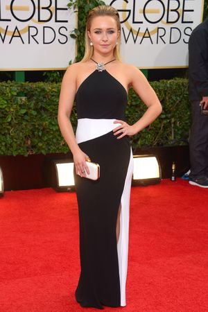 Hayden Panettiere 71st Annual Golden Globe Awards, Arrivals, Los Angeles, America - 12 Jan 2014