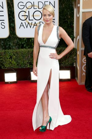 71st Annual Golden Globe Awards, Arrivals, Los Angeles, America - 12 Jan 2014 Margot Robbie 12 Jan 2014