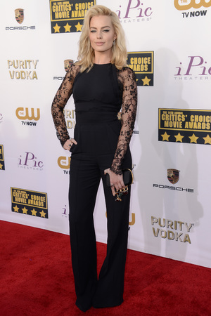 19th Annual Critics' Choice Movie Awards, Arrivals, Los Angeles, America - 16 Jan 2014 Margot Robbie16 Jan 2014