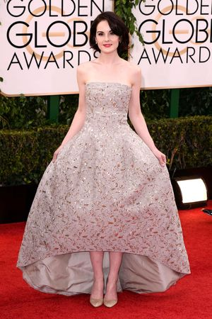 Michelle Dockery 71st Annual Golden Globe Awards, Arrivals, Los Angeles, America - 12 Jan 2014