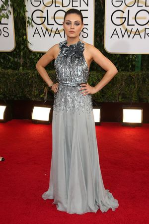 Mila Kunis 71st Annual Golden Globe Awards, Arrivals, Los Angeles, America - 12 Jan 2014