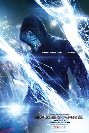 The Amazing Spider-Man 2 poster: Electro