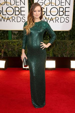 Olivia Wilde 71st Annual Golden Globe Awards, Arrivals, Los Angeles, America - 12 Jan 2014