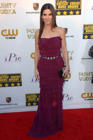19th Annual Critics' Choice Movie Awards, Arrivals, Los Angeles, America - 16 Jan 2014 Sandra Bullock 16 Jan 2014