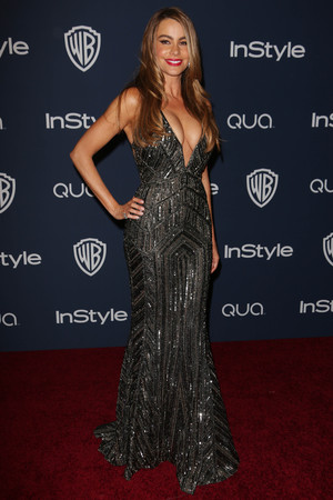 Sofia Vergara 71st Annual Golden Globe Awards, Warner Bros and InStyle After Party, Los Angeles, America
