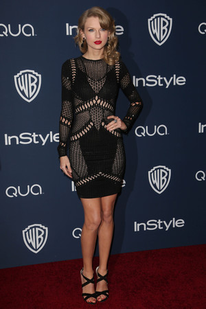 71st Annual Golden Globe Awards, Warner Bros and InStyle After Party, Los Angeles, America - 12 Jan 2014 Taylor Swift