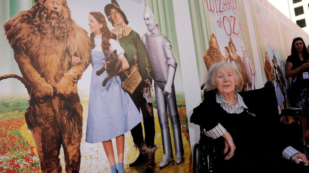 Wizard of Oz last female Munchkin actress Ruth Robinson