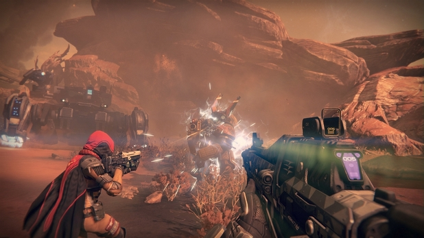 Destiny is a persistent world shooter set in a future version of our solar system
