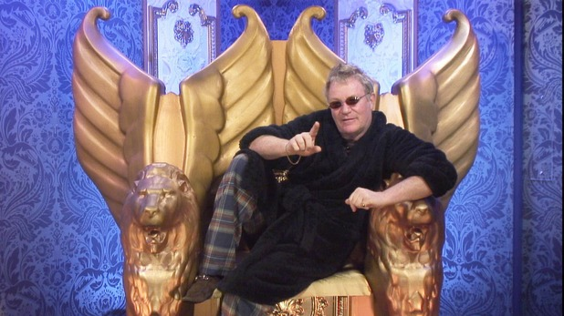 Jim Davidson in the Diary Room