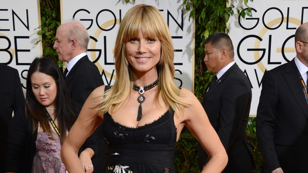 71st annual Golden Globe Awards: Heidi Klum