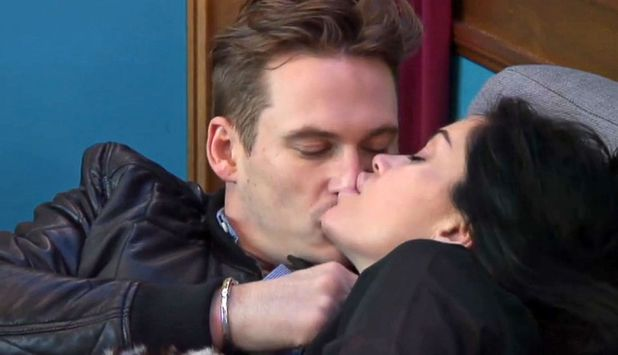 'Celebrity Big Brother' TV show, Elstree Studios, Hertfordshire, Britain - 14 Jan 2014 Lee Ryan and Jasmine Waltz 14 Jan 2014