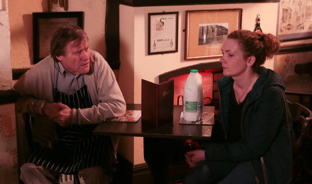 Roy tells Fiz the truth about Hayley's death