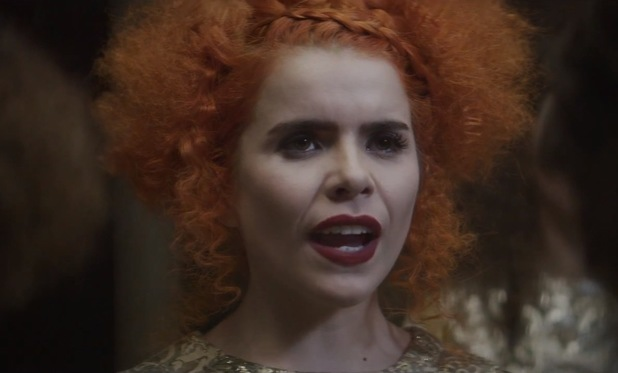 Paloma Faith 'Can't Rely on You' music video still.
