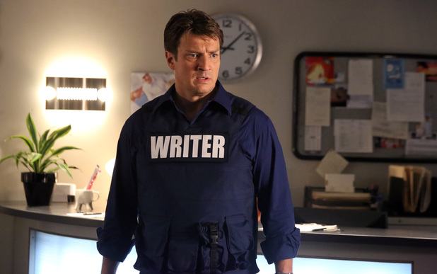 Nathan Fillion as Richard Castle in season 6 of Castle