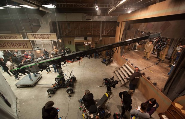 Muppets Most Wanted set