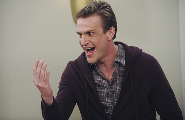 Jason Segel as Marshall in How I Met Your Mother: 'Slapsgiving 3: Slappointment in Slapmarra'