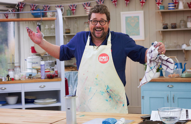 Michael Ball on Sport Relief Bake Off