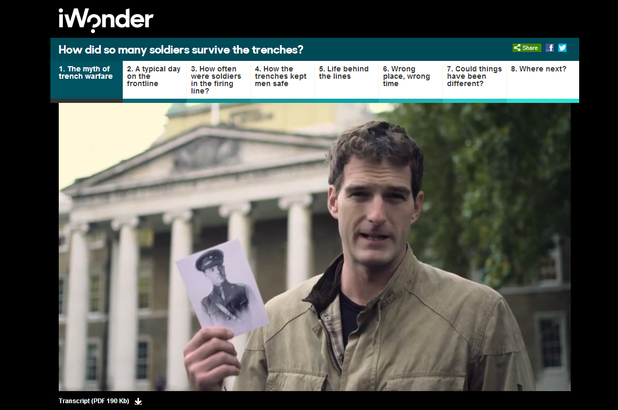 BBC iWonder with Dan Snow