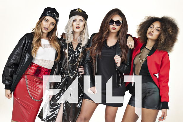 Little Mix 'Fault' magazine.