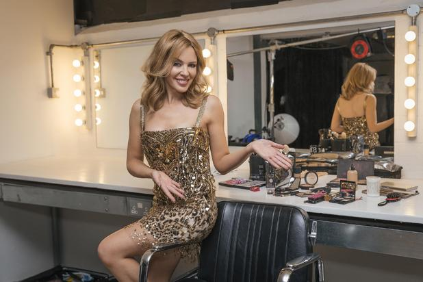 Kylie Minogue for the MasterCard Priceless campaign