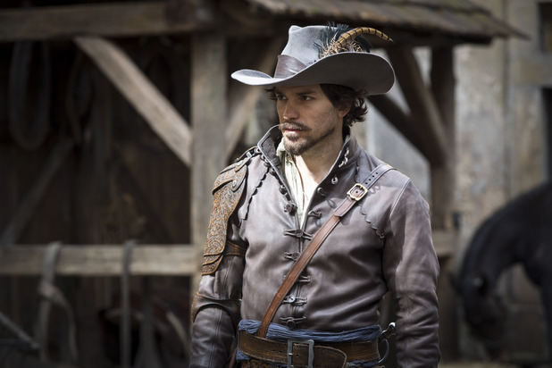 Santiago Cabrera as Aramis in The Musketeers episode one