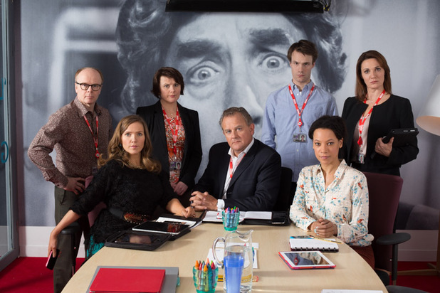 The first cast picture from 'W1A'.