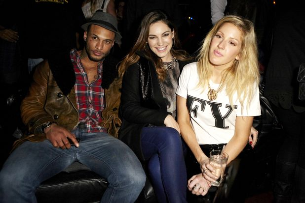 David McIntosh, Kelly Brook and Ellie Goulding