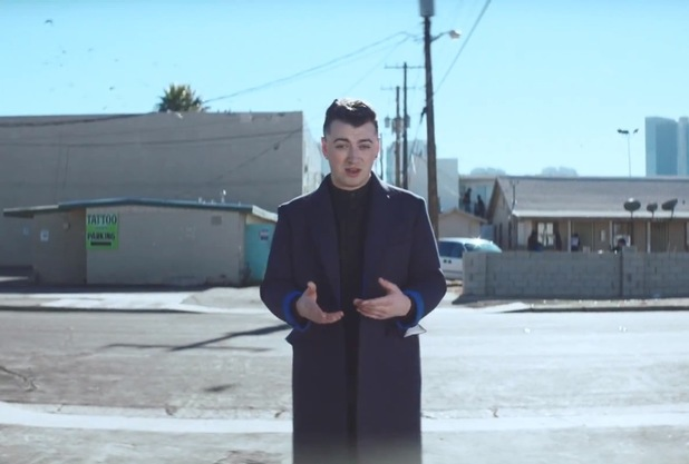 Sam Smith 'Money On My Mind' music video still.